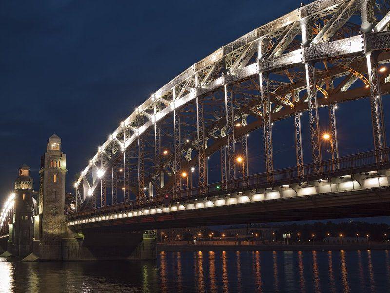 мост императора петра великого, санкт-петербургphoto preview
