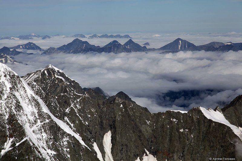 Алтай, Горы, Облака Над облакамиphoto preview