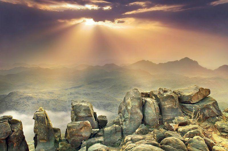 гора, моисея Рассвет на горе Моисеяphoto preview