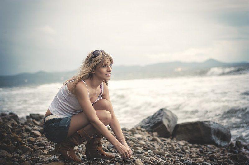Морской ветер и мысли о ...photo preview