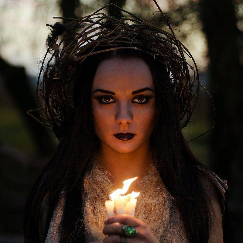 Portrait, Witch, Woman photo preview