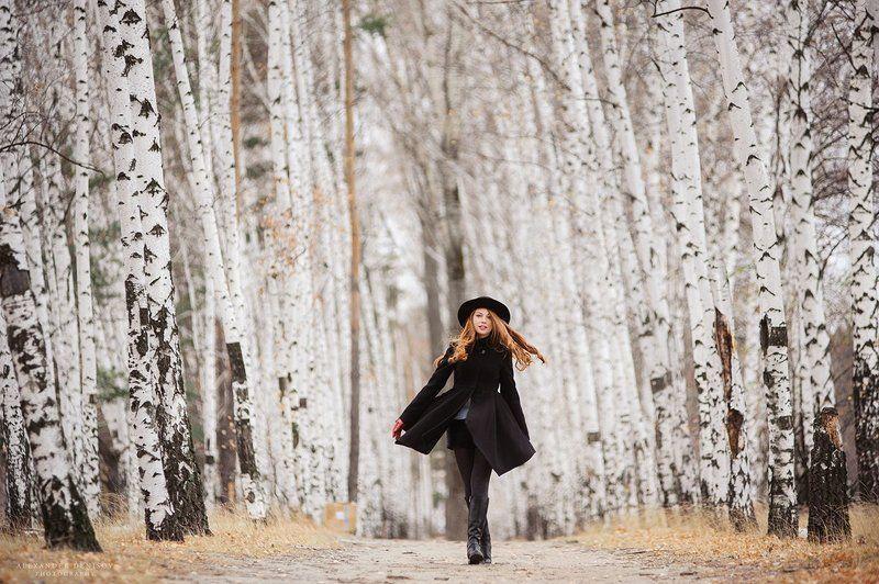 Береза, Портрет девушки Annyphoto preview