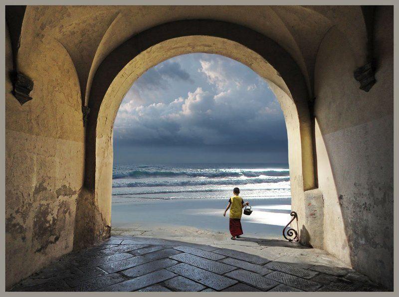 Ветер арка, Монах море, Монах море ветер арка Сон юного монахаphoto preview