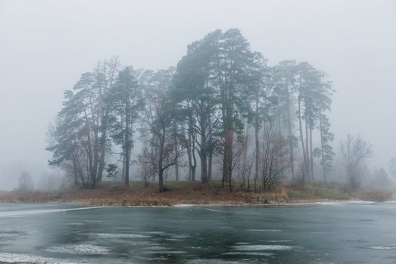 Туман и ледphoto preview