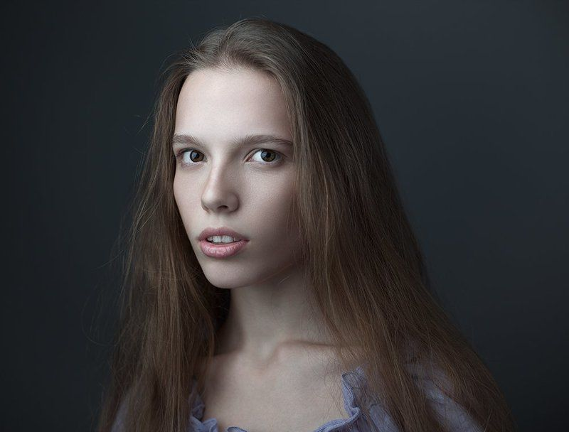 Eyes, Face, Girl, Model, Portrait, Yevgen Romanenko Аликаphoto preview