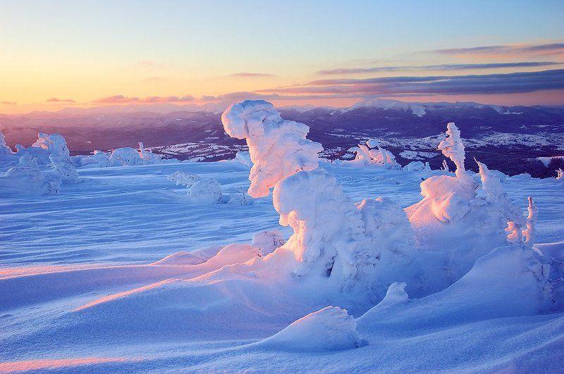 Karpaty, Landscape, Mountains, Nikon, Sunrise, Восход, Горы, Карпати, Пейзаж Sunrisephoto preview