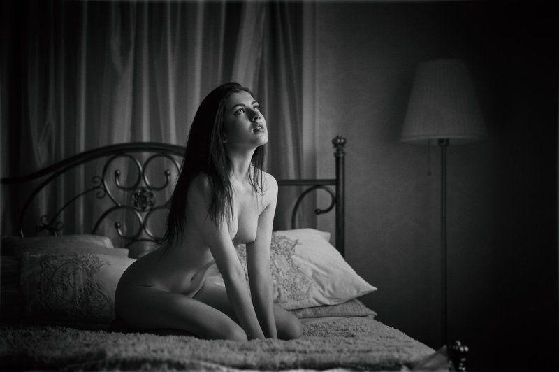 девушка, портрет, ню, ч/б, красота, nu, nude, b&w, girl, portrait Innocentphoto preview