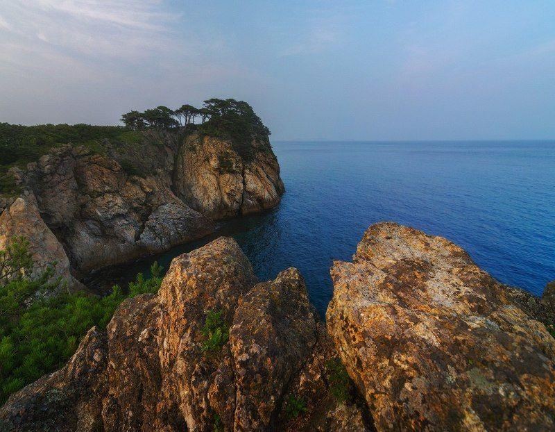 Гамова, Приморье, Японское море Виды полуострова Гамов.photo preview