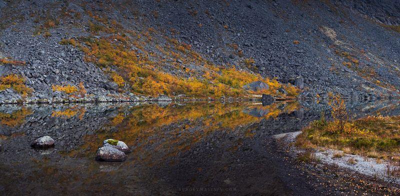 autumn, khibiny, mountains, горы, кольский, осень, хибины В тишине озераphoto preview