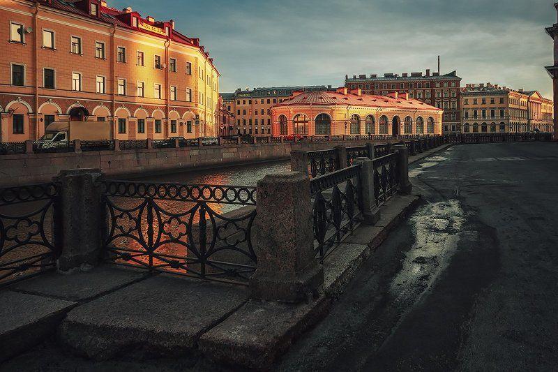 Ноябрь,утро,Петербургphoto preview