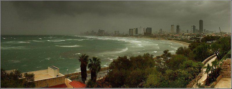 Тель-Авив перед грозойphoto preview