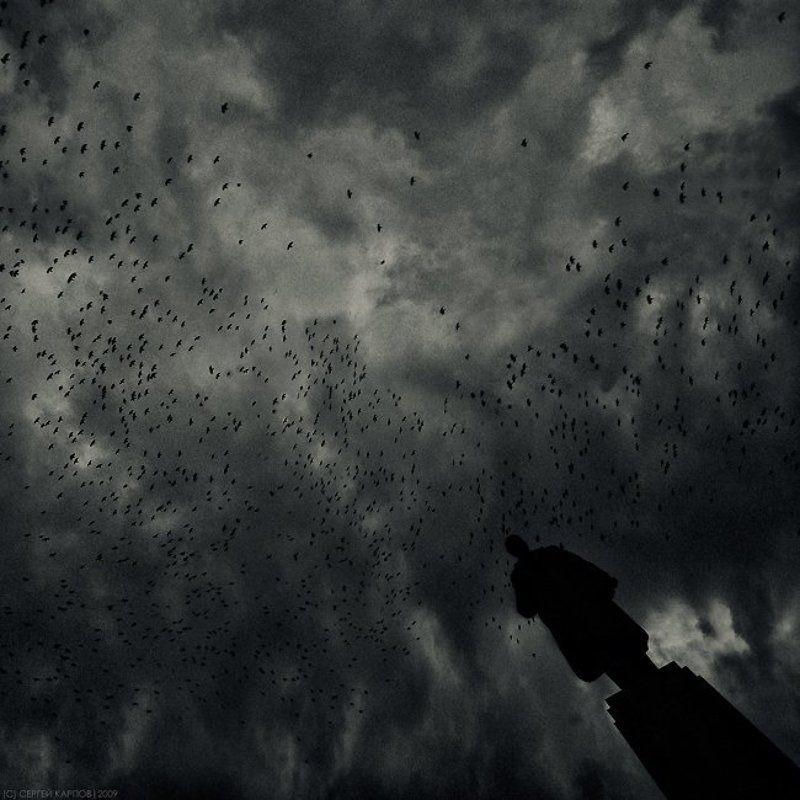 смутное,время,птицы,ленин,небо Смутное времяphoto preview