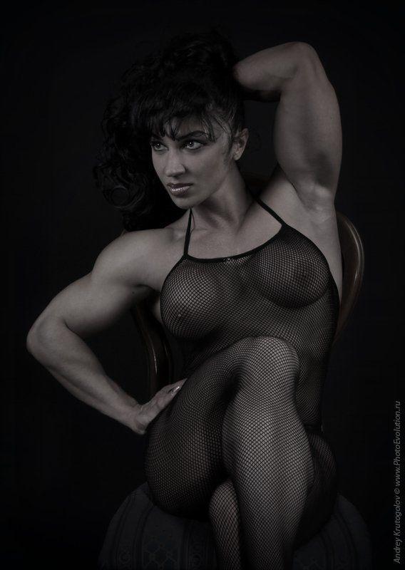 бодибилдинг, фитнес, спорт, мышцы, грудь, девушка, женщина, портрет, амазонка Elenphoto preview