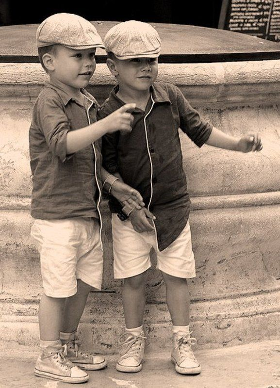 близнецы, лето, венеция ***photo preview