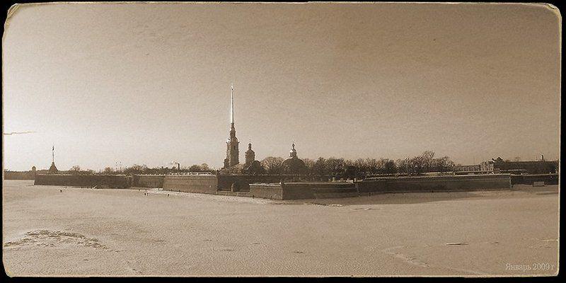 петропавловская, крепость В ледовом пленуphoto preview