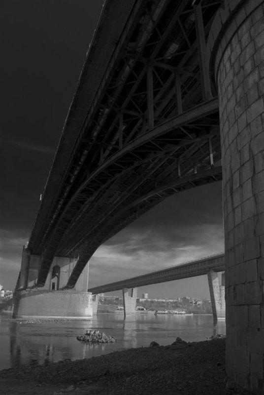 обь,мост,новосибирск photo preview