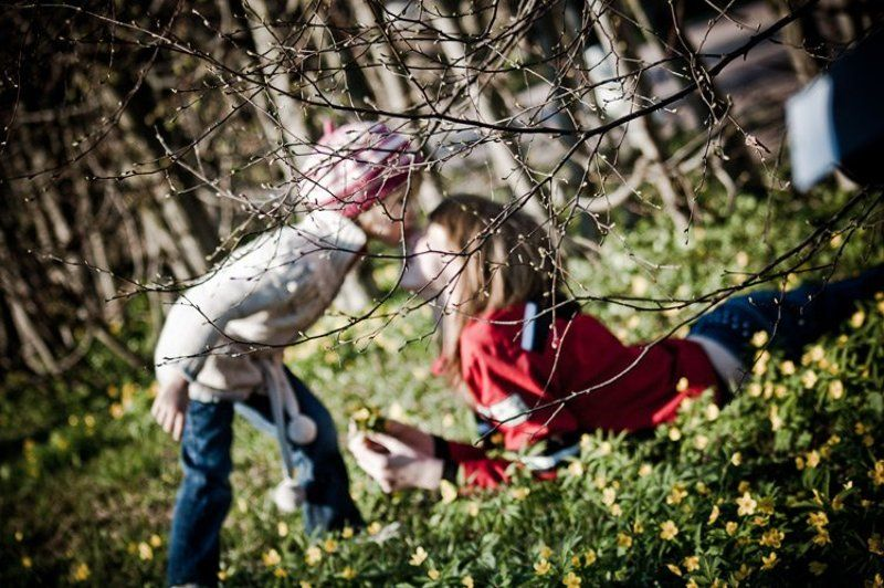 дети, кусково, весна ***photo preview
