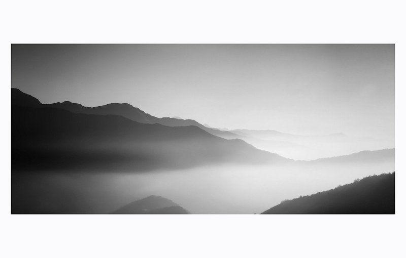 непал горы силуэтыphoto preview