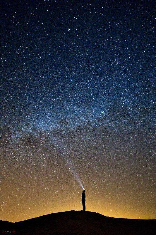 Long exposure, Longexposure, Milky way, Night, Stars, Автопортрет, Звезды, Млечный путь, Ночной пейзаж, Ночь, Силуэт Селфи.photo preview