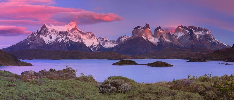Chile, Patagonia, Torres del paine, Чили, Южная Патагония Torres Del Painephoto preview