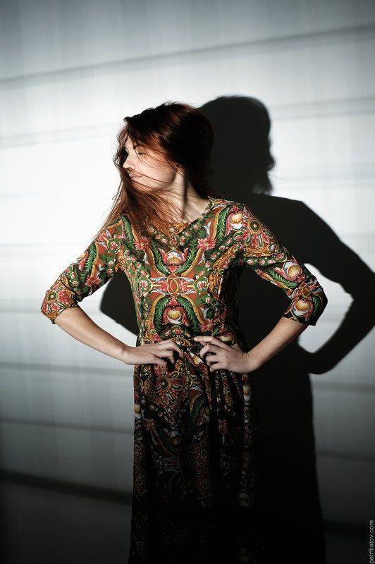 Girl, Portrait, Redhead, Волосы, Девушка, Портрет, Портрет девушки, Рыжая, Тень Ксенияphoto preview