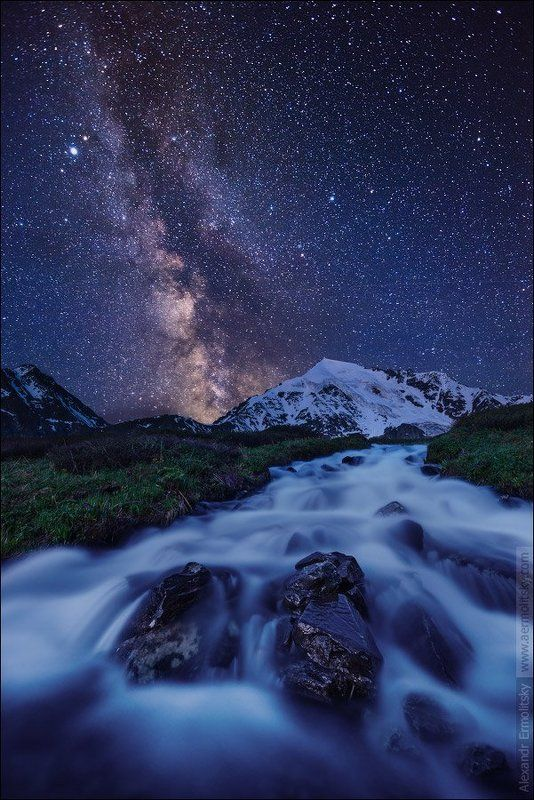 Altai, Алтай ~ Ночь на белом ручье ~photo preview