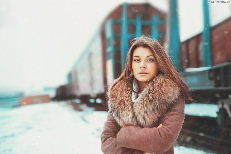 декабрьская прогулка среди поездовphoto preview