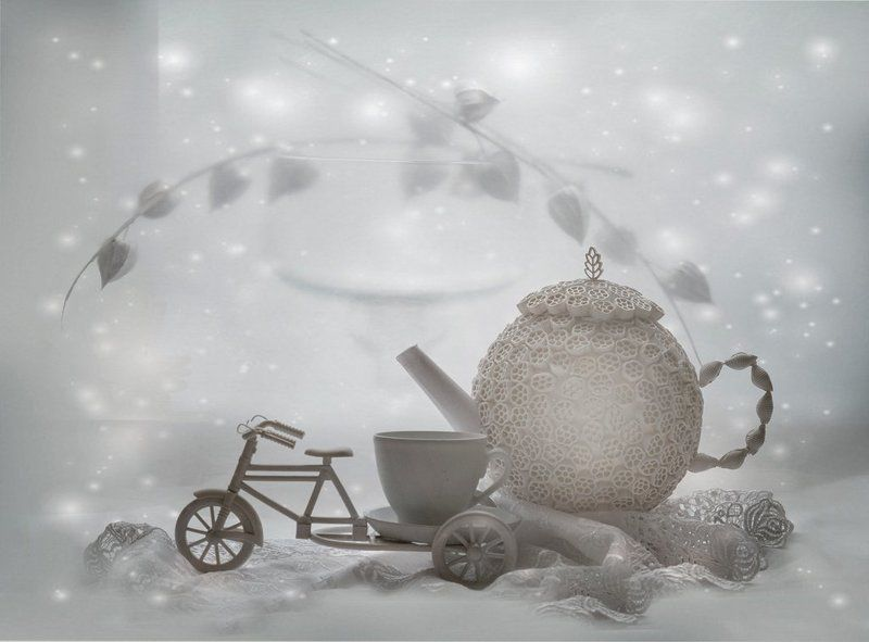 Зима, Настроение, Натюрморт Зимний чай...photo preview