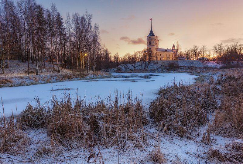 БИП, Зима, Павловск, Пейзаж Замок БИПphoto preview