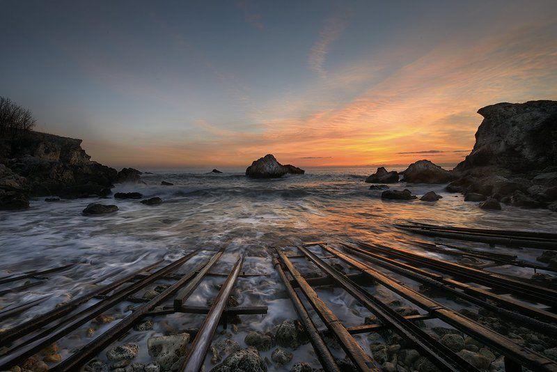 Восход солнца на Черном мореphoto preview