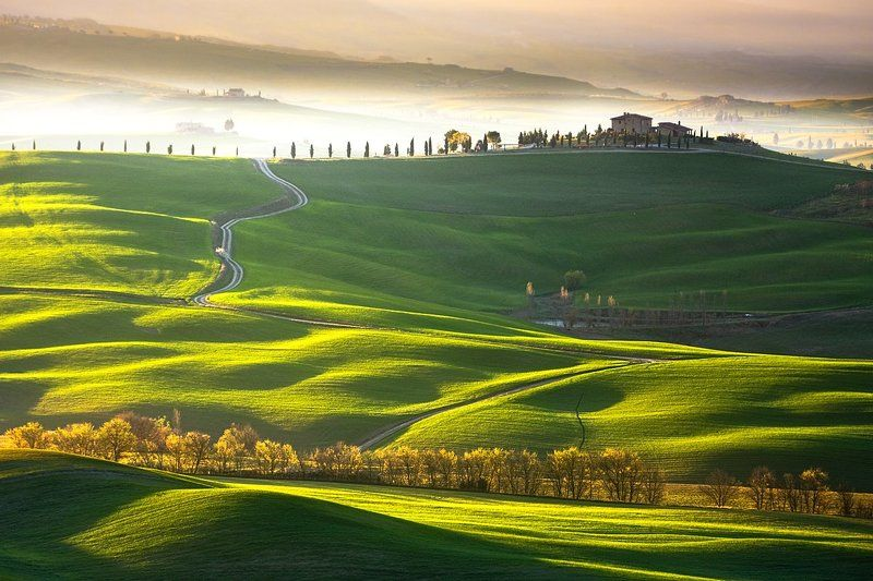 Morning, Spring, Tuscany Tuscanyphoto preview