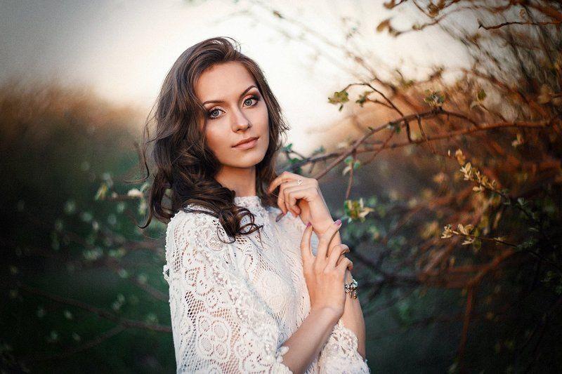 Весна, Портрет девушки Катяphoto preview