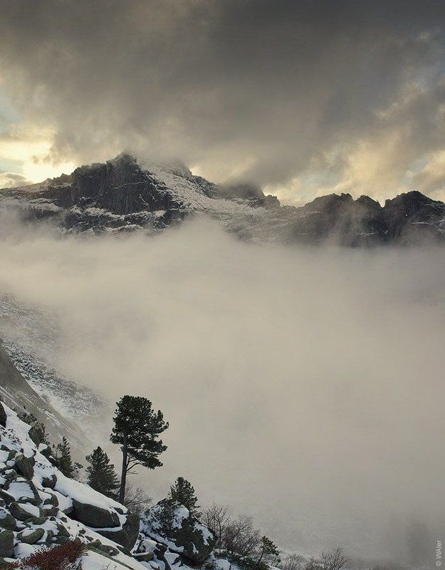 ергаки PRO Закатный туманphoto preview