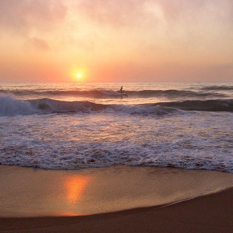 Ocean, Portugal, Sunset, Surf, Surfer ***photo preview