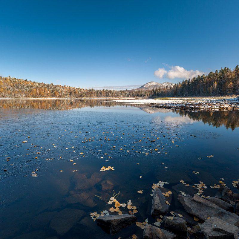 Осень, Таганай Тесьминское водохранилищеphoto preview