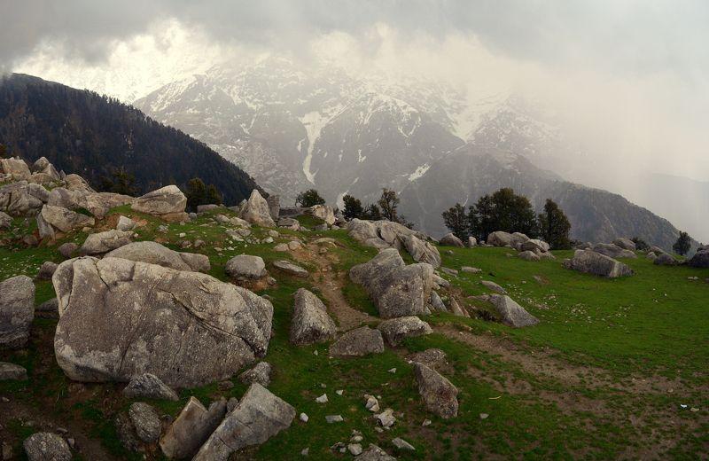 Горы, Гималаи, Индия, камни, пейзаж ***photo preview