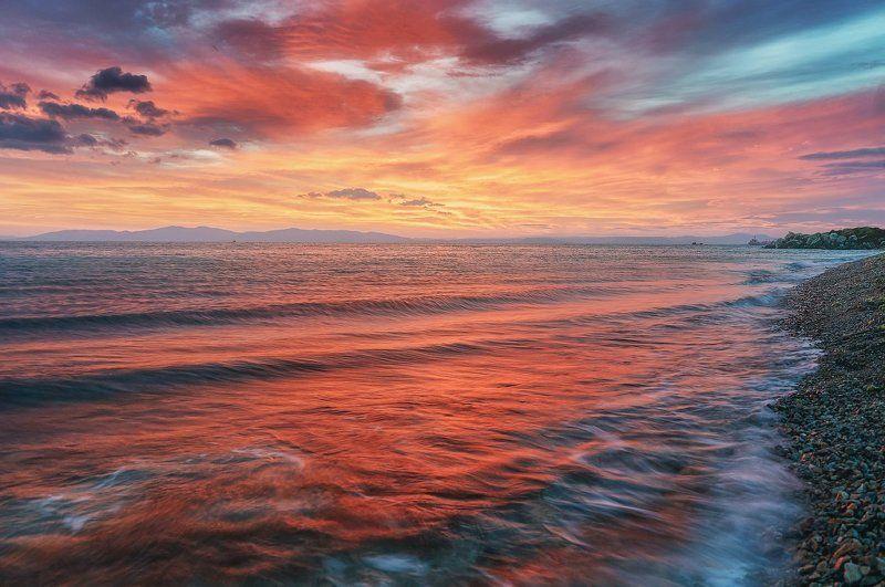 Владивосток, Море, Россиия, Японское море Японское море. Владивосток.photo preview