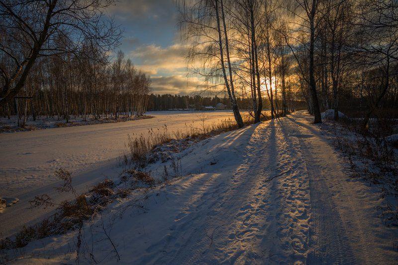 Зимний вечер 2photo preview