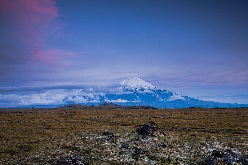 Камчатка, вулканы, фототур Закат над Толбачикомphoto preview