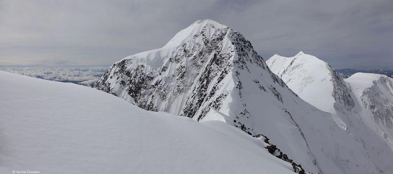 Белуха, Алтай Белуха с пика Делонеphoto preview