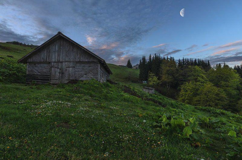 горы, Карпаты, полонина, рассвет, Менчул Дарящая свежесть духаphoto preview