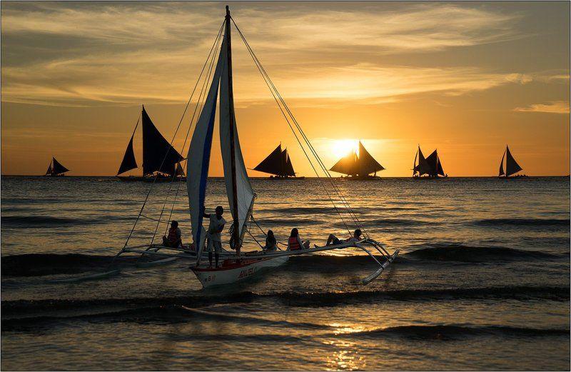 Яхтинг на острове Боракайphoto preview