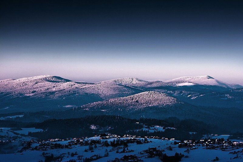 Mountains beskids Beskydy Mountains ...photo preview