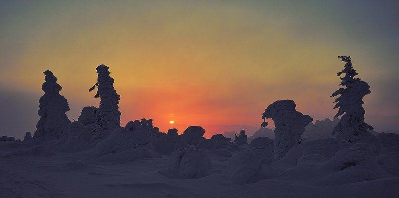 пейзаж Урал Таганай Утро нового мира...photo preview
