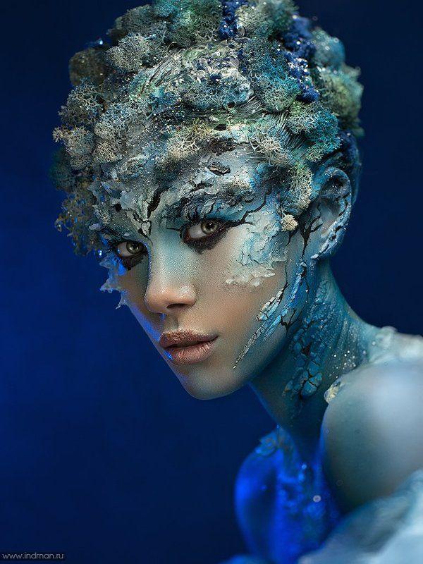 Beautiful, Face, Faceart, Fantasy, Girl, Igor parfenov, Indman, Novosibirsk, Sea Sea fantasyphoto preview