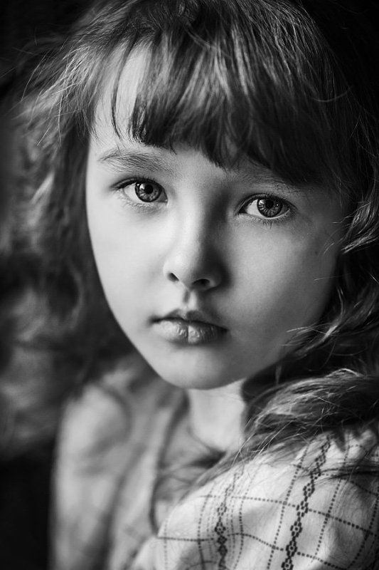 B&w, Black and white, Child, Children, People, Portrait ***photo preview