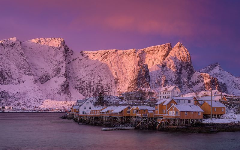 Lofoten, Norway, Reine Reine...photo preview