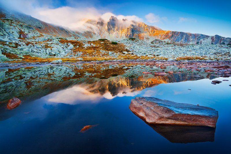 Autumn, Landscape, Mountains autumn lakephoto preview