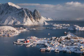 Обычный денёк одной далекой норвежской деревни