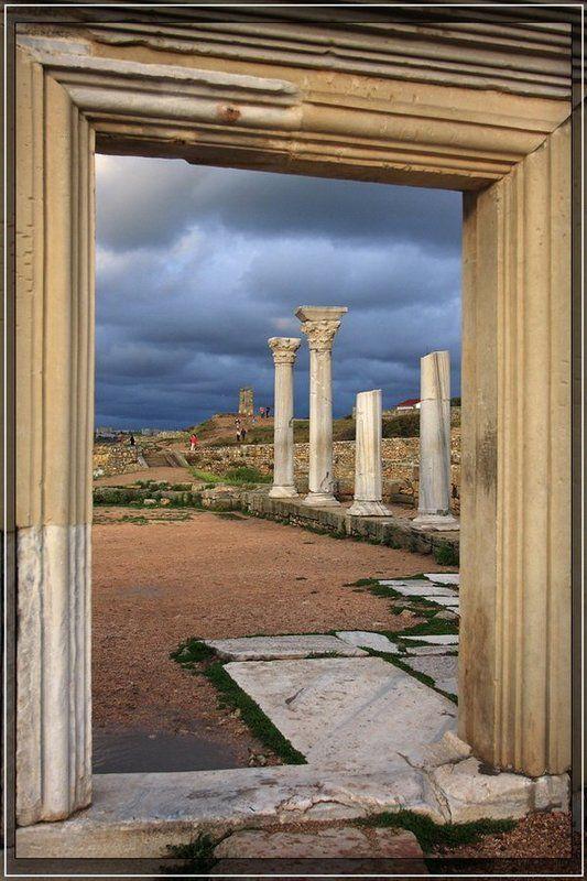 крым, херсонес Дверь в античный мирphoto preview